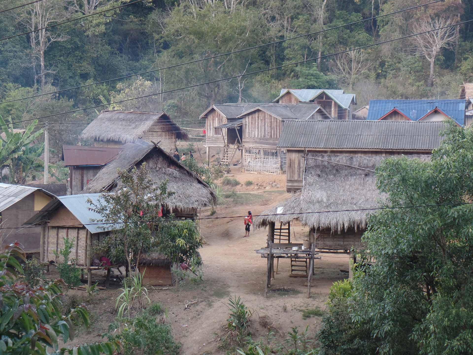 village in the south of Laos