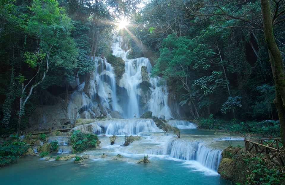 Kuang Xi waterfalls
