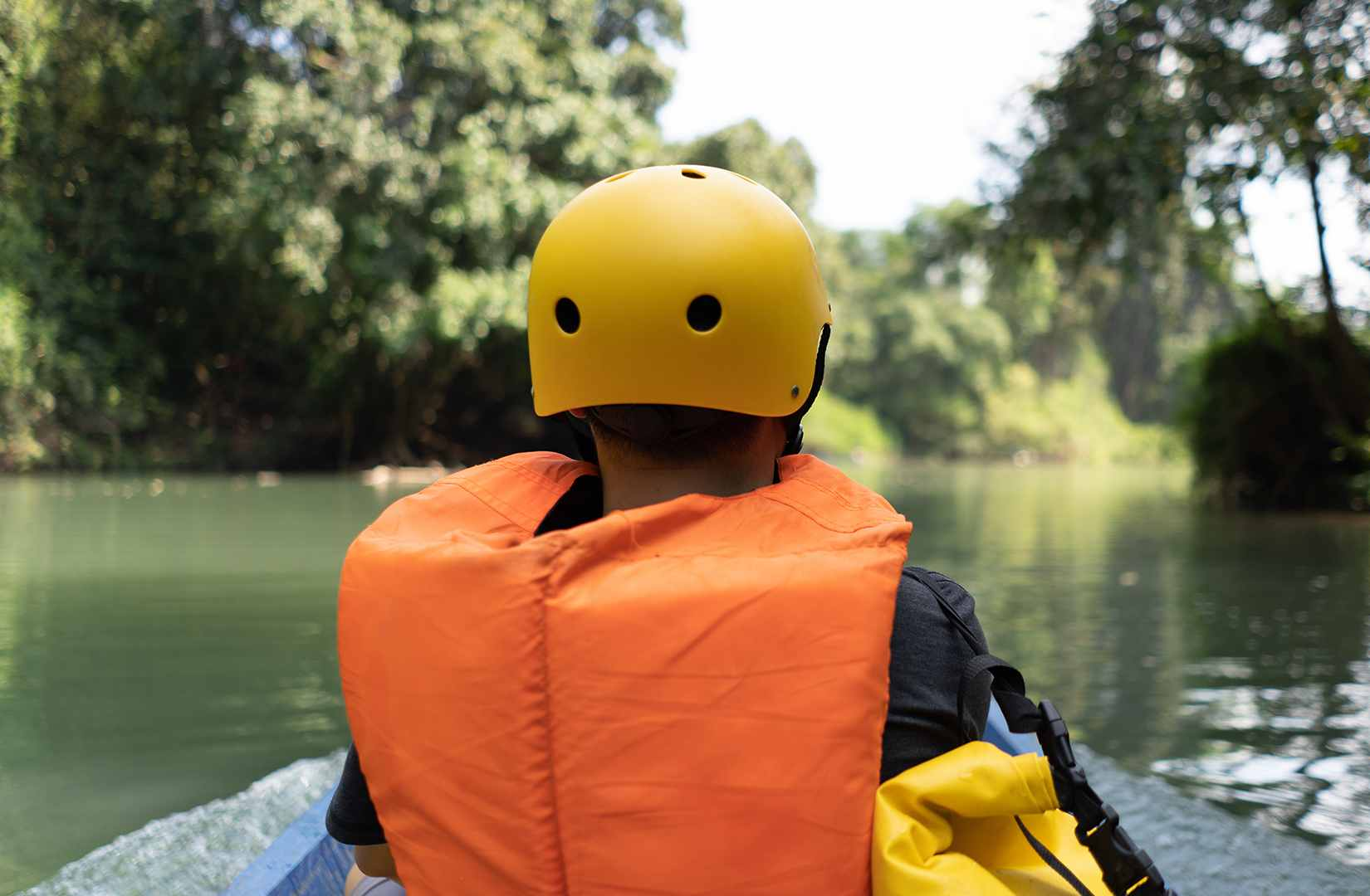 kayaking in North of Laos