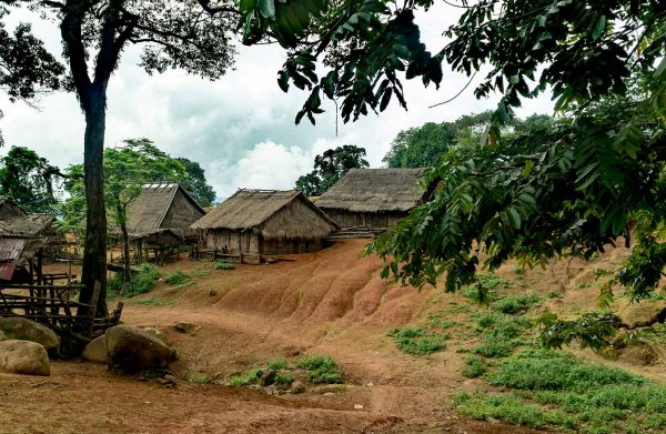 village in the north of Laos