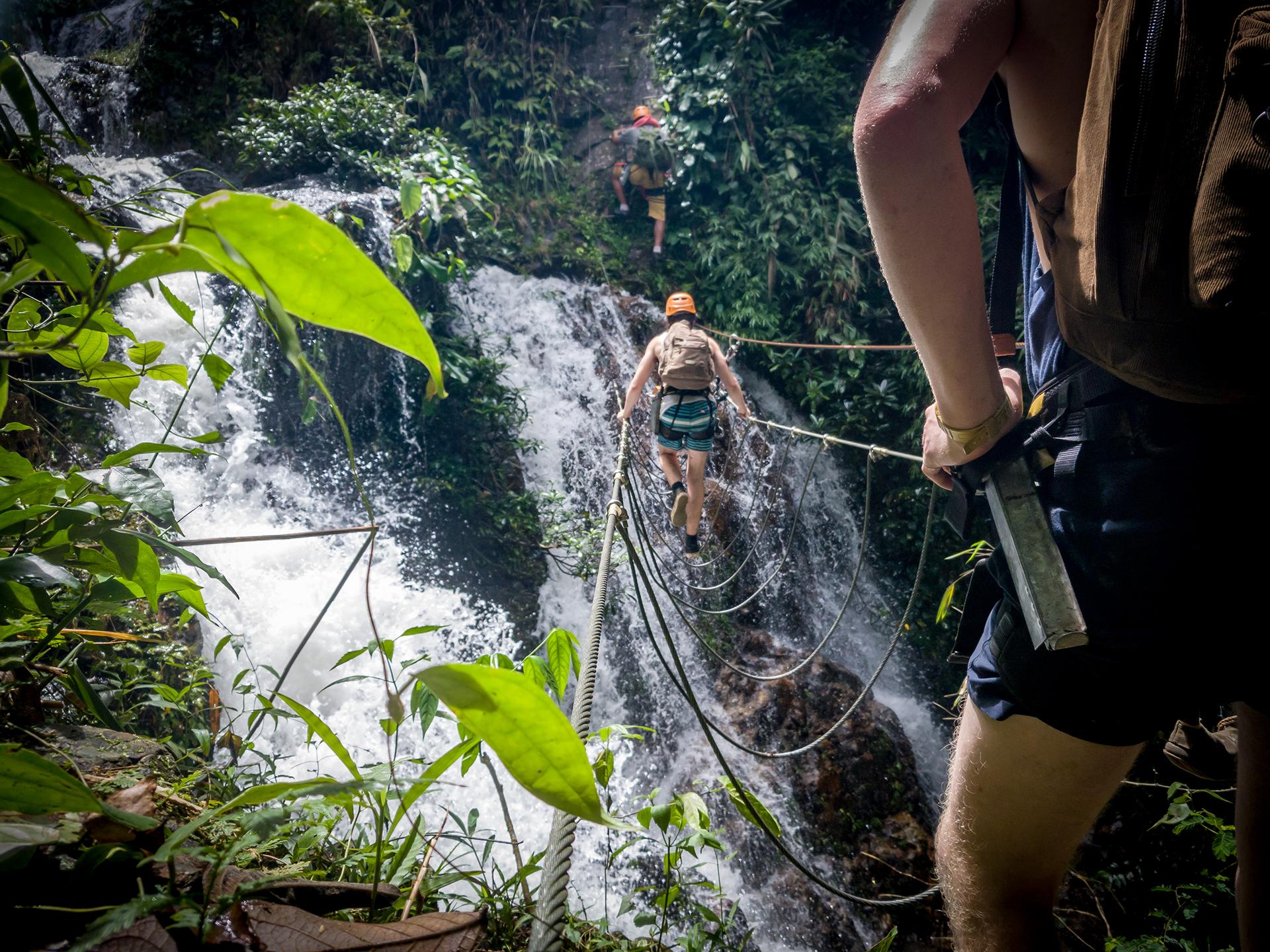 amazing adventure in Vang Vieng