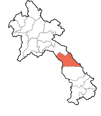 Khammounane map